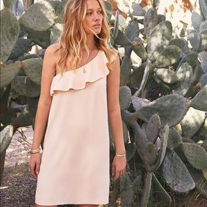 7fee8c3a6f47 Sezane Dresses | Nwt Louison Cream Ruffle One Shoulder Dress | Poshmark